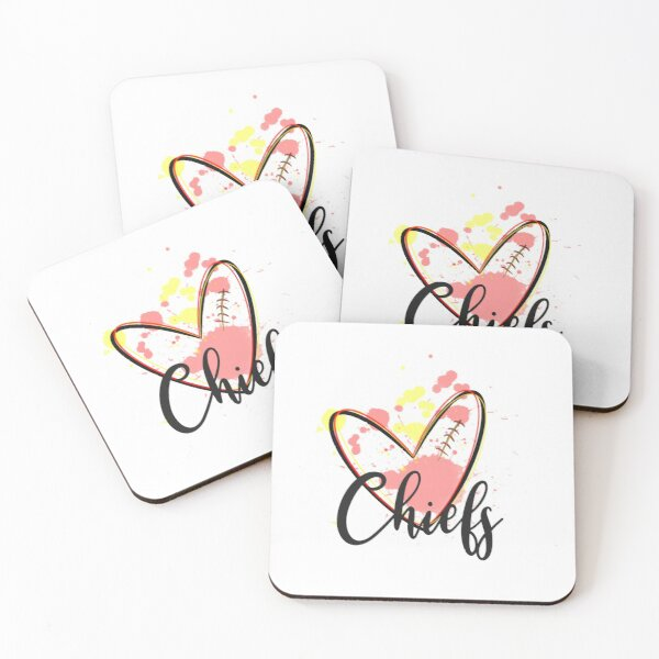 Chiefs  Coasters (Set of 4)
