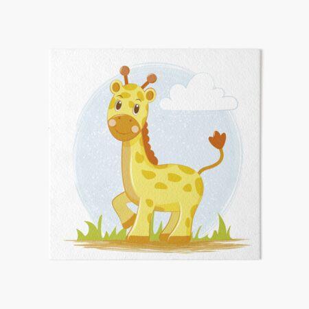 Linda jirafa Lámina rígida