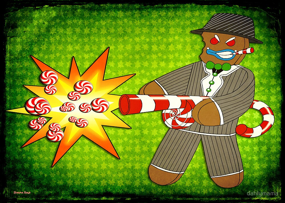 Gingerbread Gangster by Shawna Rowe