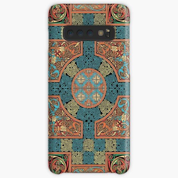 Lindisfarne Gospels Page Samsung Galaxy Snap Case
