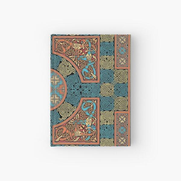 Lindisfarne Gospels Page Hardcover Journal