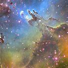 Eagle Nebula by pjwuebker