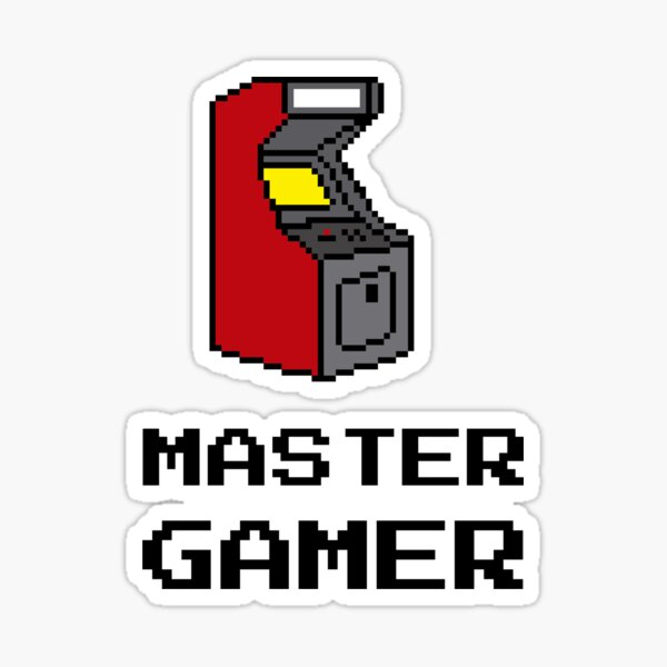 MG Arcade Sticker