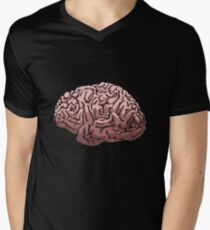 Human Brain Men's V-Neck T-Shirt