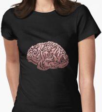 Human Brain Women's Fitted T-Shirt