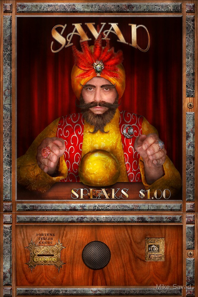 Hobby - Have your fortune told by Michael Savad