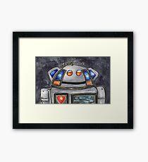 Metal Mickey Framed Print