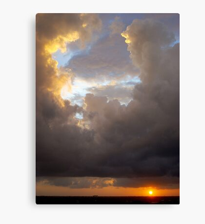 Panama Sunrise Canvas Print