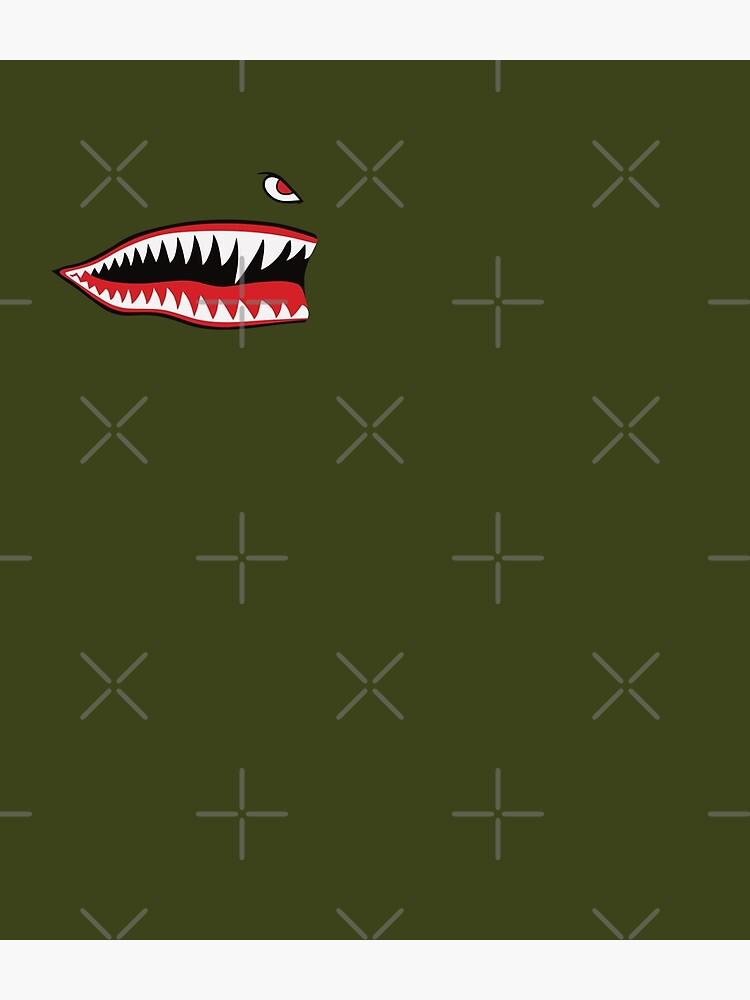 Flying Tigers Nose Warhawk by Beltschazar