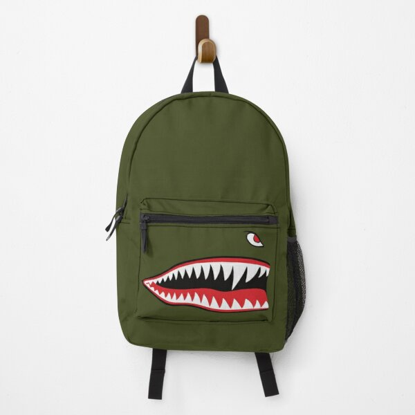 Flying Tigers Nose Warhawk Backpack