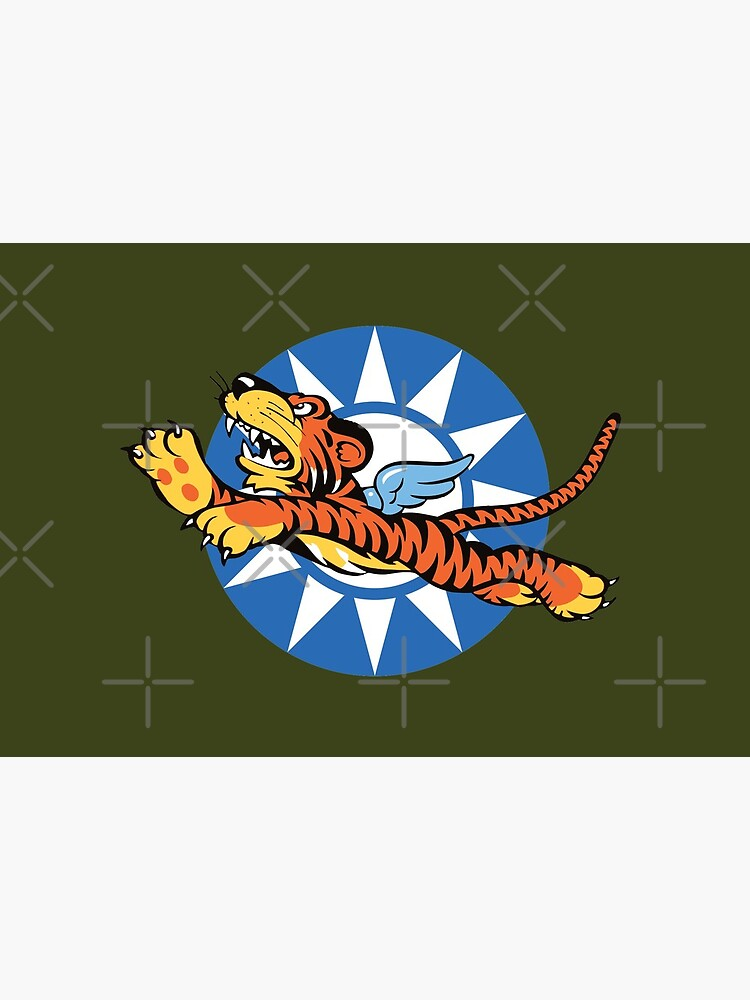 Flying Tigers Retro Squadrons Insignia  by Beltschazar
