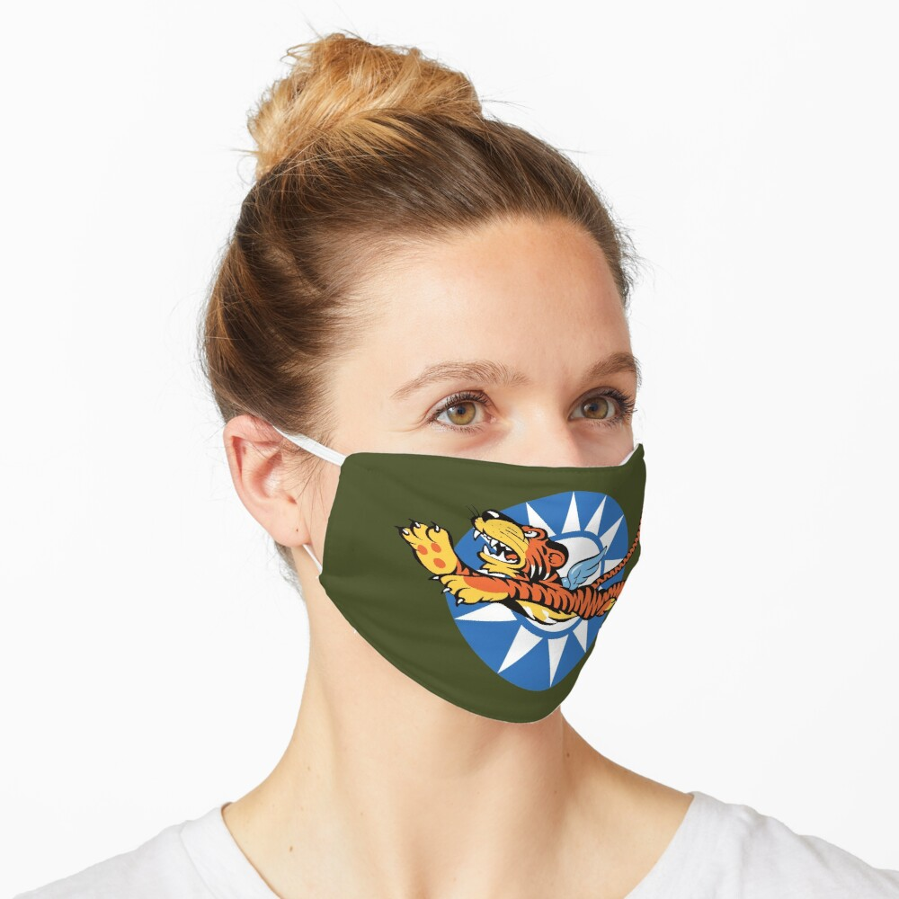 Flying Tigers Retro Squadrons Insignia  Mask