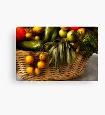 Food - Veggie - Sage advice  Canvas Print