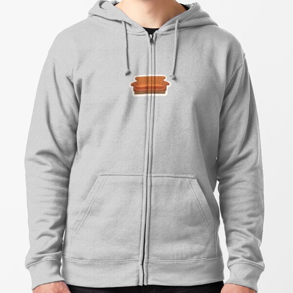 Central Perk Couch Zipped Hoodie