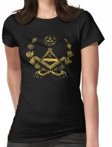 Seal of masonry Womens Fitted T-Shirt
