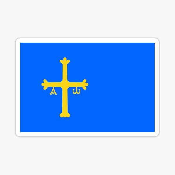 Asturias Flag Gifts, Stickers & Products Sticker