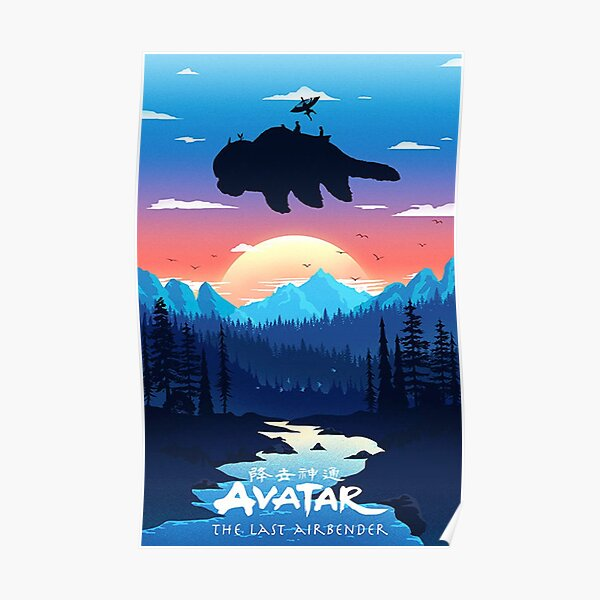 Adventure Scenery Of Avatar Poster