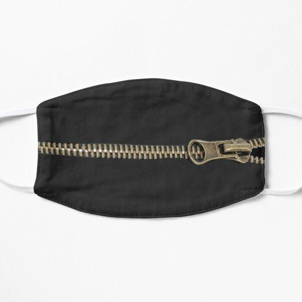 Zipper mouth Flat Mask
