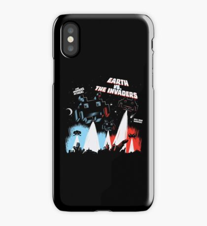 Earth vs. The Invaders iPhone Case/Skin