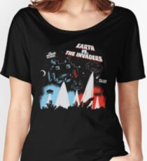 Earth vs. The Invaders Women's Relaxed Fit T-Shirt
