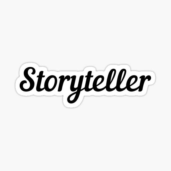 Storyteller Sticker