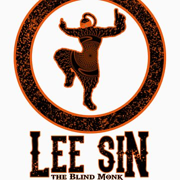 Lee Sin, the Blind Monk by ColorVandal