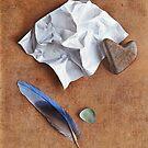 Unwritten letter - 2 by Elena Kolotusha