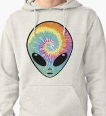 alien tie dye Pullover Hoodie