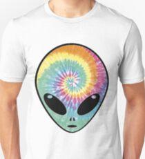 alien tie dye Unisex T-Shirt