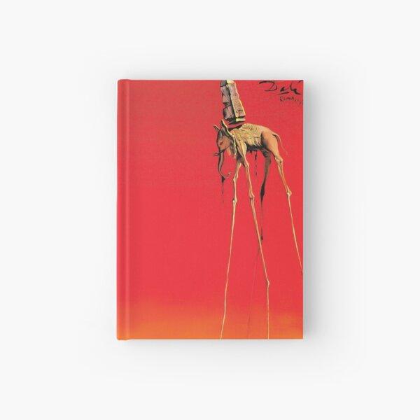 Salvador Dali The Elephants (Les Éléphants) 1948 Artwork for Wall Art, Prints, Posters, Tshirts, Men, Women, Kids Hardcover Journal