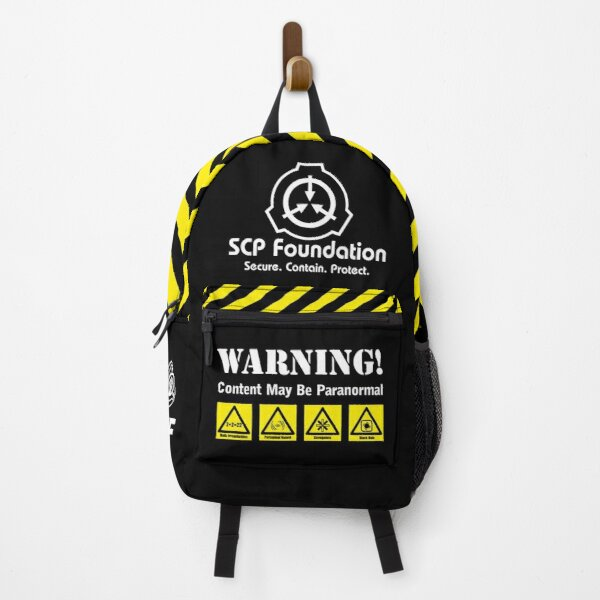 SCP Foundation MTF pack  Backpack