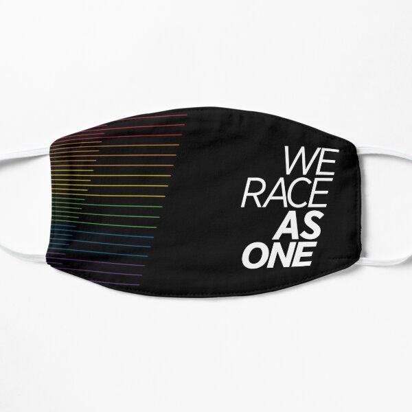 Nous courons ensemble (arc-en-ciel divisé) Masque sans plis