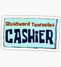 Squidward - Cashier Sticker