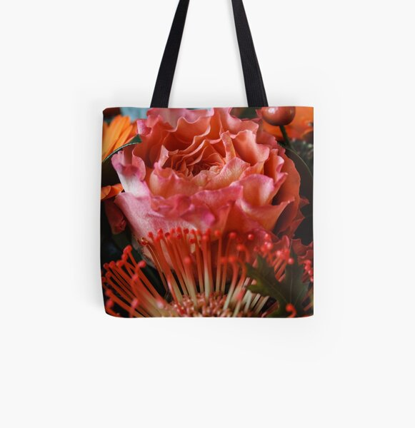 Floral bouquet_I All Over Print Tote Bag