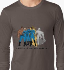 Fantastic 4 & Silver Cooper Long Sleeve T-Shirt