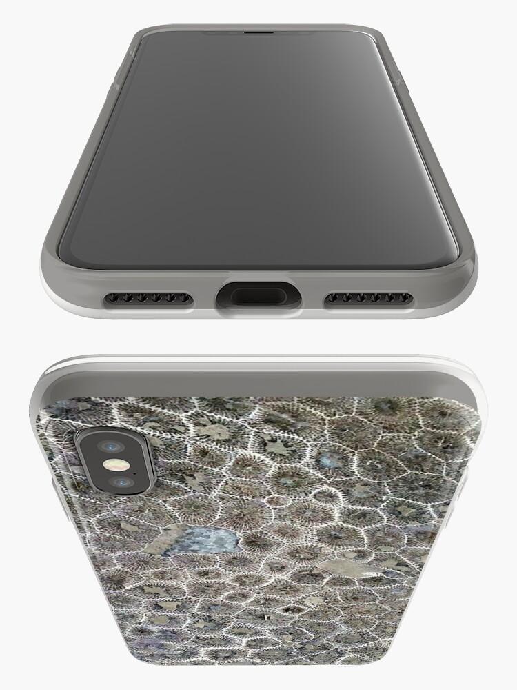 Vista alternativa de Funda y vinilo para iPhone Petoskey Stone, Pure Michigan!