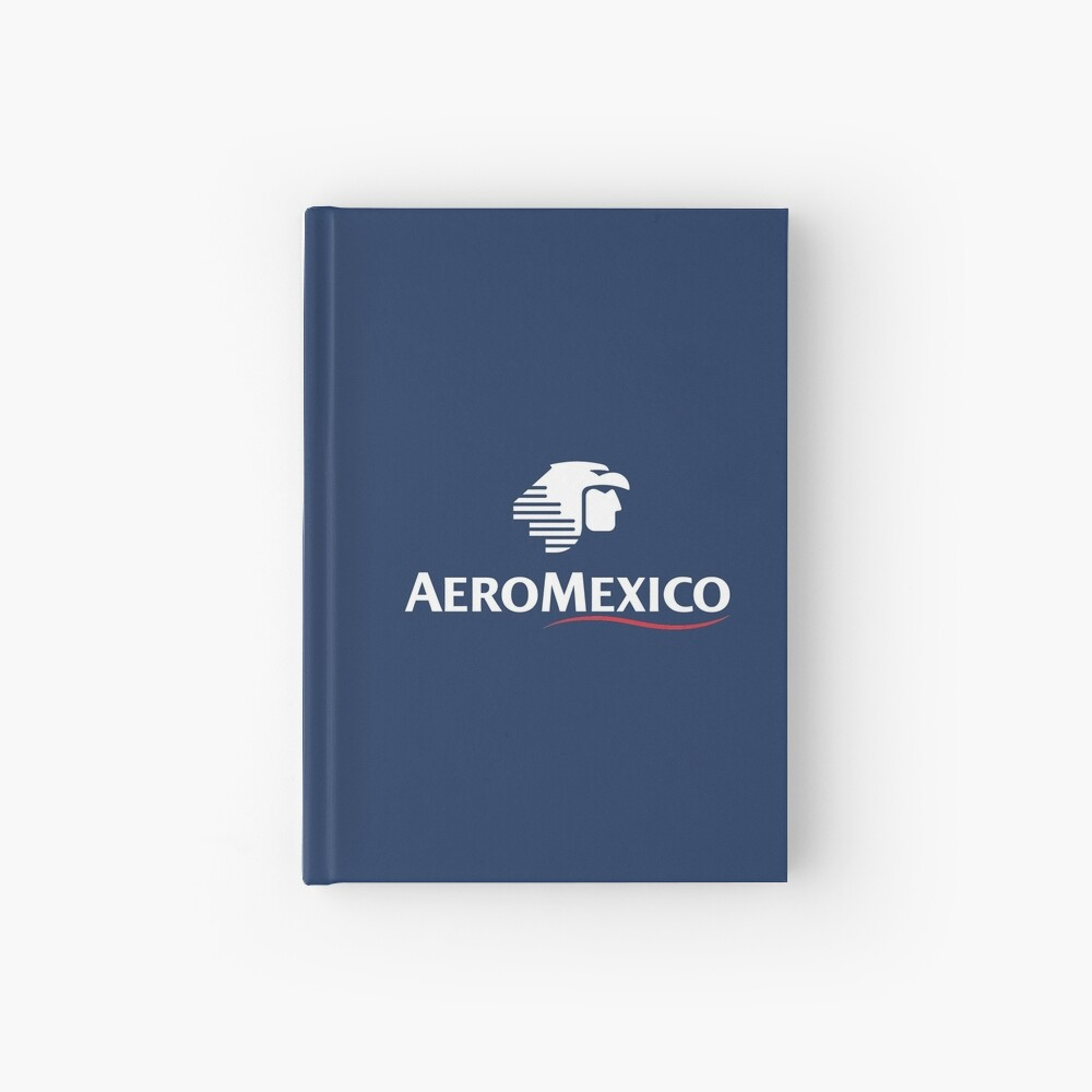 Aeromexico Logo With Lettering Hardcover Journal By In Transit Redbubble