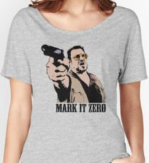 The Big Lebowski Mark It Zero Color Tshirt Women's Relaxed Fit T-Shirt