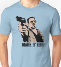 The Big Lebowski Mark It Zero Color Tshirt T-Shirt