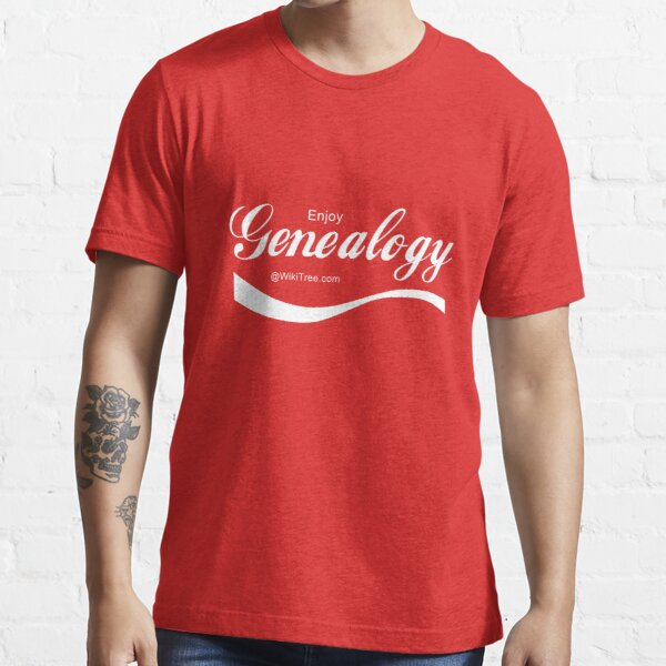Enjoy Genealogy @wikitree.com Essential T-Shirt