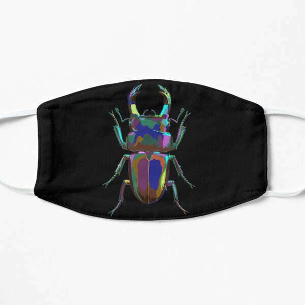 Colored Stag Beetle Mask