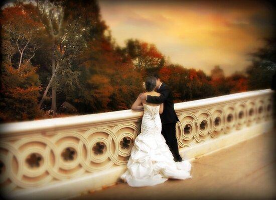 Bow Bridge Wedding by Jessica Jenney