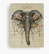 Flight of the Elephant Canvas Print