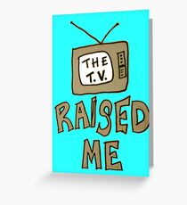 tv1 Greeting Card