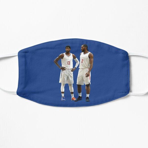 Kawhi Leonard and Paul George Flat Mask