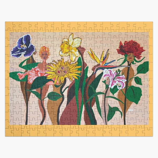 In Full Bloom Jigsaw Puzzle