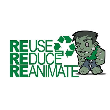 Frankenstein - Recycle by luvthecubs