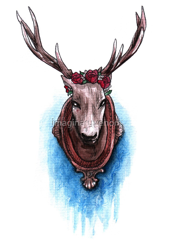 The Stag by Grace Mutton