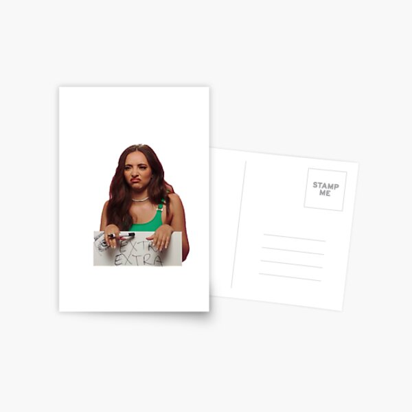 Jade Thirlwall From Little Mix Postcard