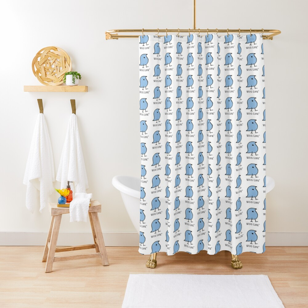 Wug Life Shower Curtain